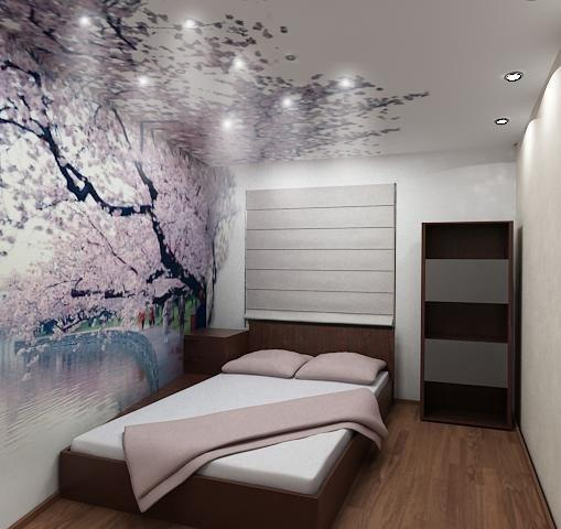 Оформление небольшой спальни