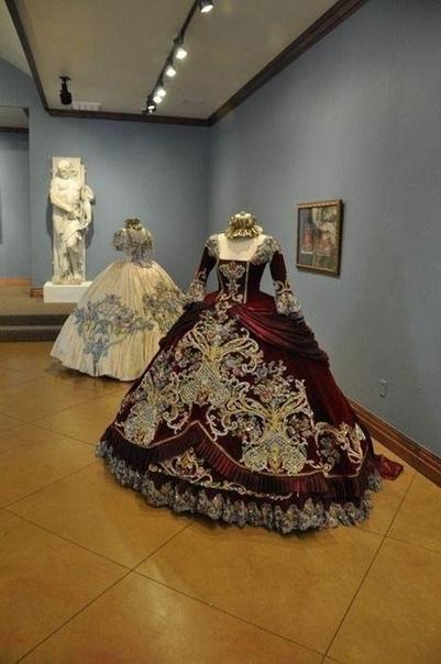 Бальные платья дебютанток