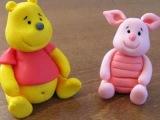 אנושקה - פו הדוב מבצק סוכר/Winnie the Pooh - fondant tutorial