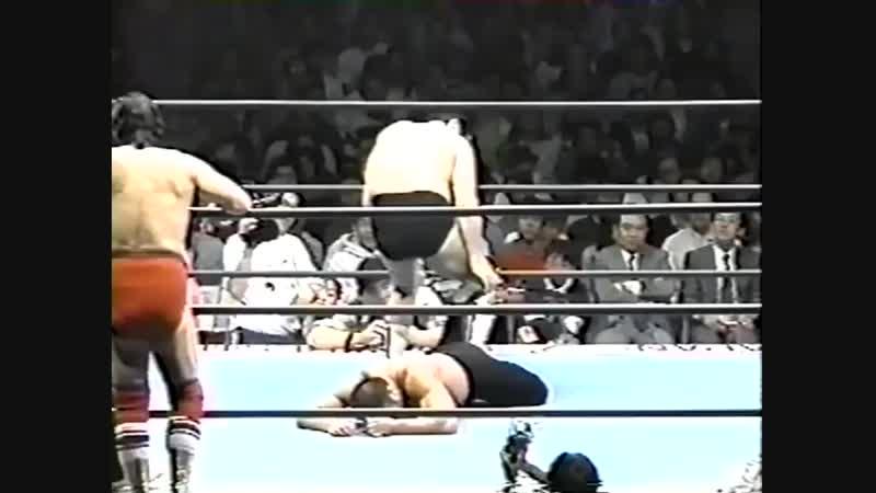 1994.04.16 - Masanobu Fuchi/Haruka Eigen/Masao Inoue vs. Rusher Kimura/Mitsuo Momota/Mighty Inoue [JIP]