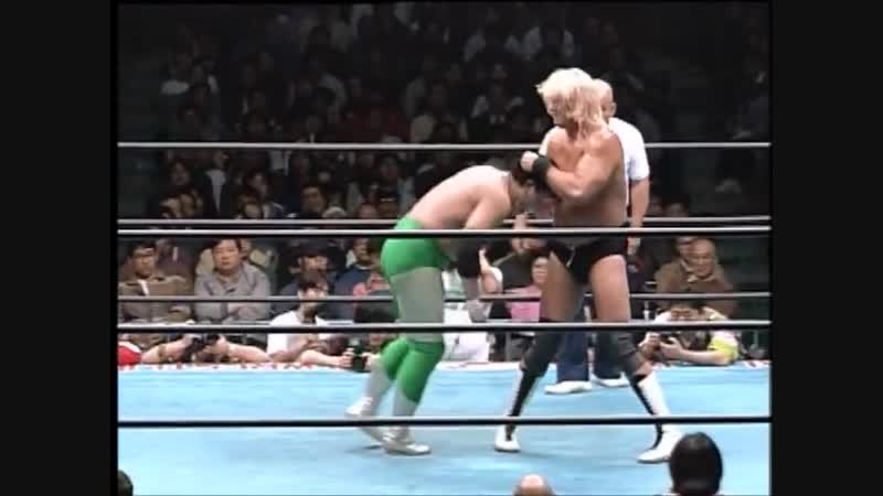 1994.12.10 - Mitsuharu Misawa/Kenta Kobashi vs. Johnny Ace/Steve Williams