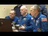 Экипажи ТПК Союз МС-08 провели открытые тренировки