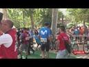 La Vuelta etapa 5 control de firmas salida Granada