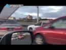 Авария на мосту по ул. Бабушкина в Улан-Удэ