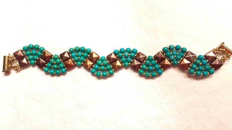 Tila Bead Bracelet Tutorial - Tila Boncuk ile Bileklik Yapımı