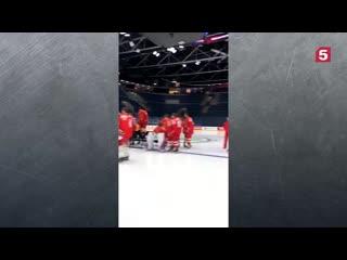 Расписание матчей сборной России на ЧМ по хоккею в Словакии