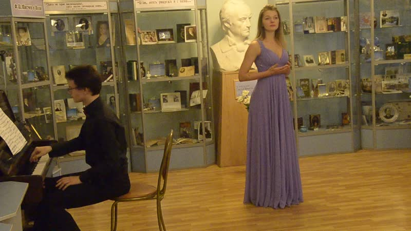 Песня Русалки, А. Дворжак, поёт Елена Наказная, ф-но Пётр Брайнин