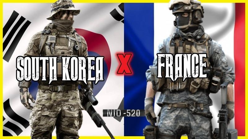 SOUTH KOREA *VS* FRANCE | South korean VS French special forces 2018 |