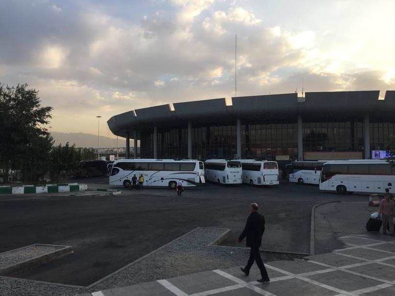 Автовокзал Тегерана. Путешествие в Иран