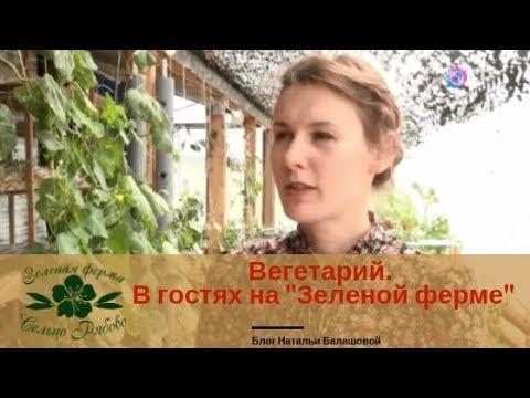 Вегетарий. В гостях на Зеленой ферме Натальи Балашовой.