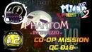 Phantom Intermezzo QC018 CO-OP MISSION PUMP IT UP FIESTA 2 MISSION ZONE ✔