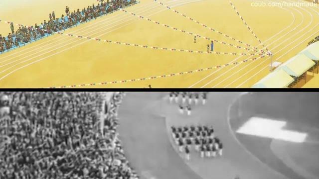 Olympic Games 1936 vs. 2016 (animesplit) · coub, коуб