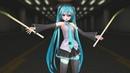 MMD 金星のダンス む~ぶ式初音ミク