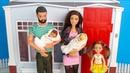ВОТ МЫ ДОМА или ПЕРВАЯ БЕССОННАЯ НОЧЬ ПАПЫ Мультик Куклы Барби Игрушки Игры Для девочек IkuklaTV