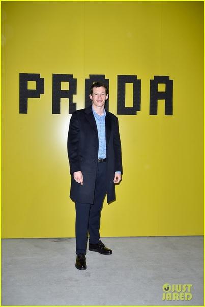 Prada Show in Milan Зара и Майк ТиндаллСирша Ронан