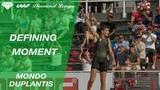 Mondo Duplantis talks pole vault, Renaud Lavillenie &amp having a garden runway - IAAF Diamond League