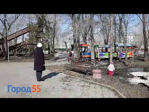 В Омске детский паровозик ездит под Rammstein