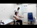 Жалобы пациента на боль в грудной клетке с иррадиацией в левую руку и лопатку диагноз шейный остеохондроз После нескольких мин