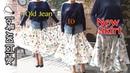패턴없이 옷만들기( 9 청치마 리폼 ) DIY Old jean to New Skirt | 제리의옷장 Jerry's Closet |