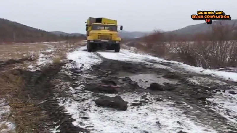 Crazy Truck Driving In Extreme Mud Off Road _ Truck Stuck In Mud Compilation