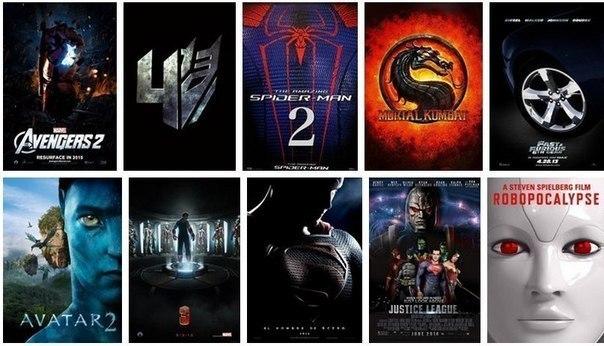 самые лучшие фильмы 2012 2015