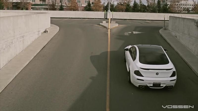 BMW 645 on 20 Vossen VVS-CV3 Concave Wheels _ Rims