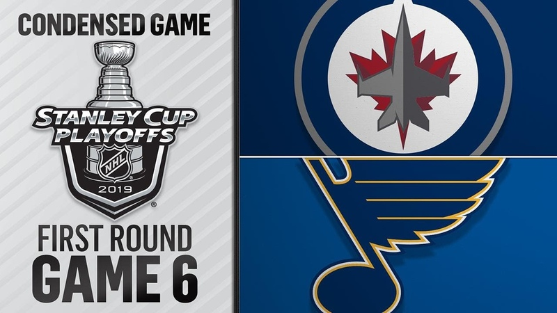 04/20/19 First Round, Gm6: Jets @ Blues