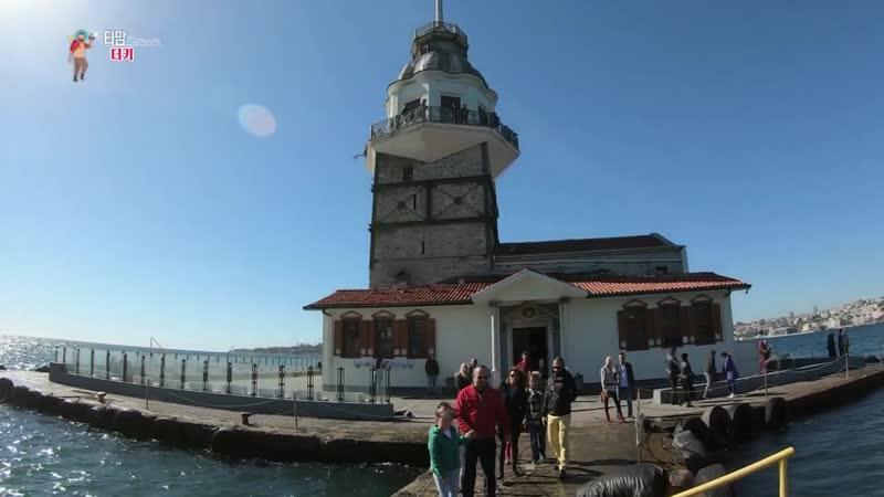 【K】Turkey Travel-Istanbul_Maidens Tower_Kız Kulesi_Bosphorus Straits