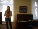 Ольга Сиротинина читает сонет Данте на итальянском и в русском переводе