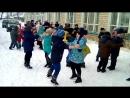 Акция Голубая лента Николаевская школа Аннинский район Воронежская область