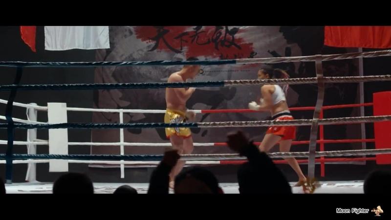 Male vs female boxing mixed fight scene part 2 man lost