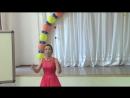 Песня Наш школьный выпускной звенит звонок. Исполняют Виктория Невзорова, Дарья Зуева, Алена Смирнова.