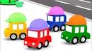 Lehrreicher Zeichentrickfilm Die 4 kleinen Autos auf der Baustelle