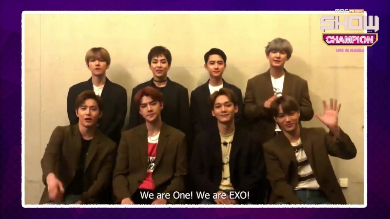 180918 Exo - All Access Production facebook Update