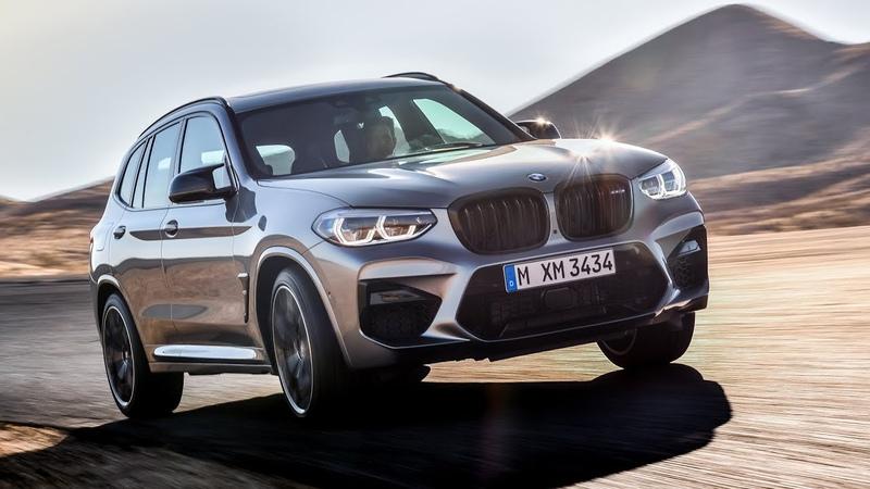 BMW X3 M Competition 2019 официальное видео