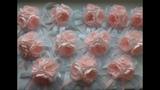 Браслеты для подружек невесты из лент Канзаши МК Bracelets for the bridesmaids and the ribbon