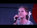 Выступление победителя - лауреата 1-ой степени - на конкурсе Золотая нота . Белые панамки , Анна Жебровская, 11 лет. Руковод