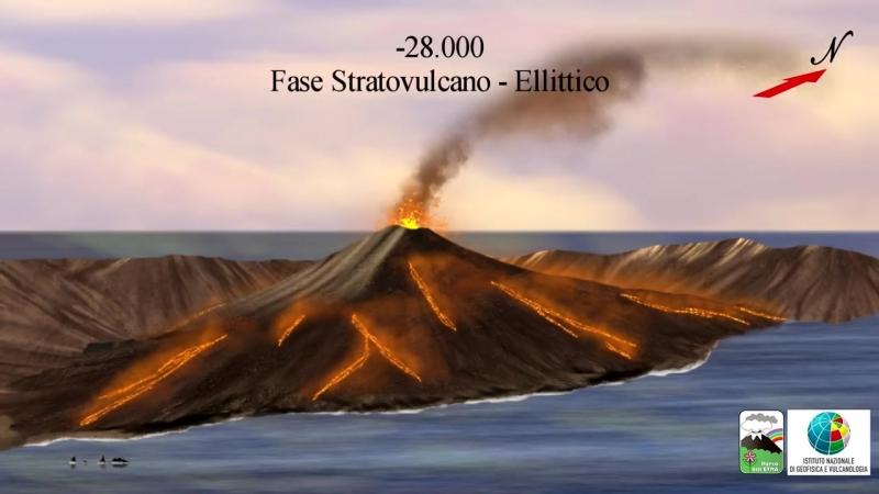 Evoluzione dell'Etna presentato a ScienzAperta 2018