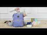 Обзор рюкзака для мам и малышей