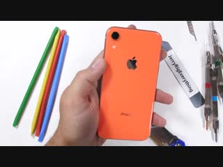 iPhone XR Durability Test - is the cheap iPhone weak