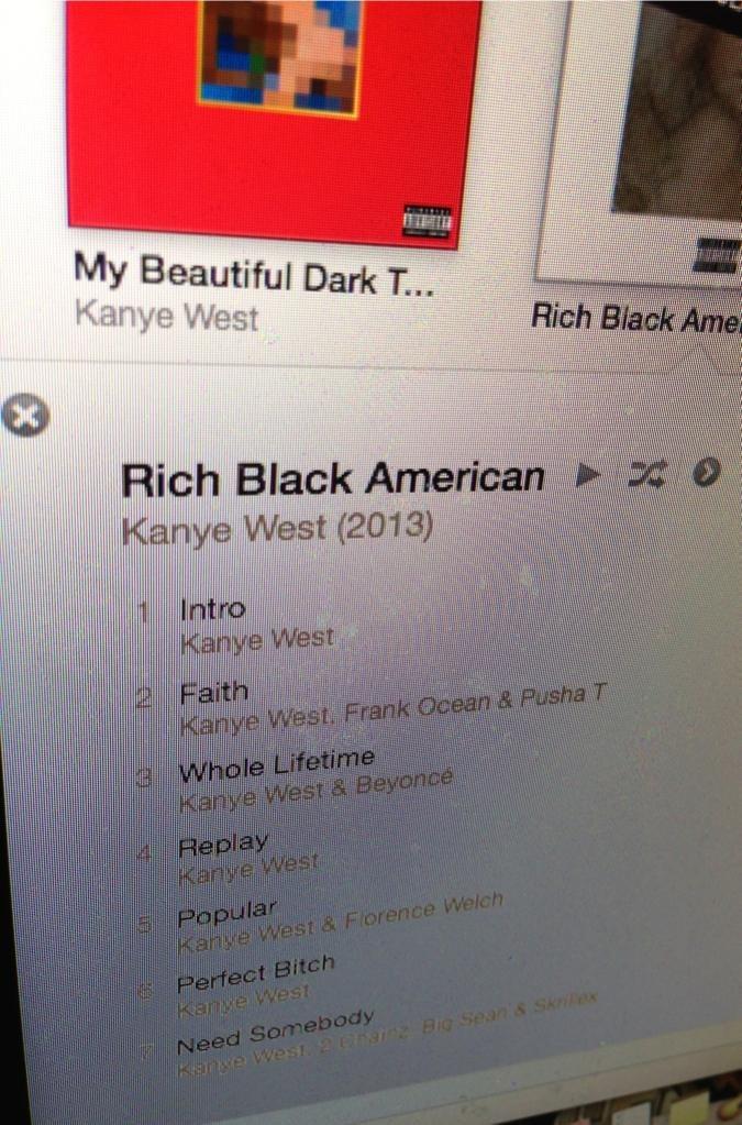 Все говорят о новом альбоме Кени Веста Rich Black American