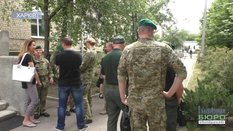 Харківські прикордонники влаштували акцію зі збору крові для онкохворих дітей