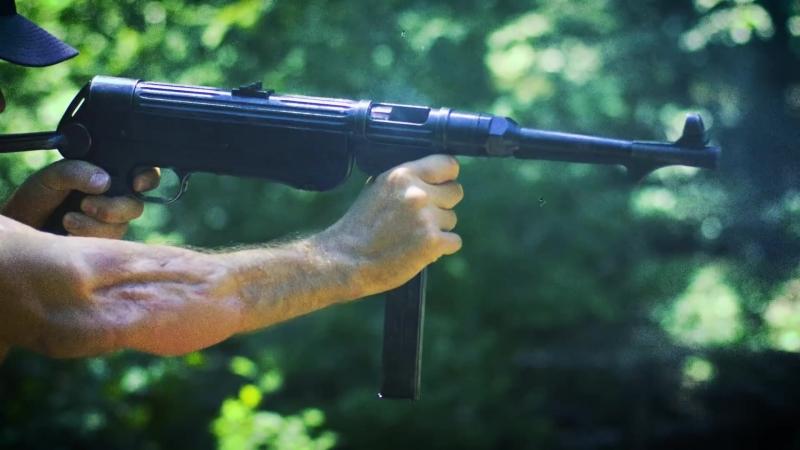 German MP 38⁄40 Submachine Gun