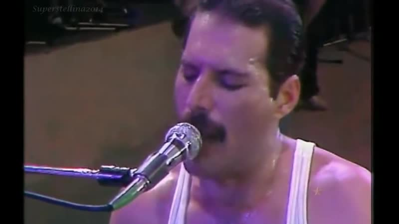 Queen (Freddie Mercury) We Are the Champions (Live Aid Semiwidescreen)