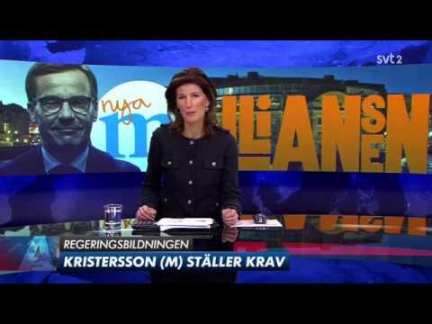 Ulf Kristersson kan tänka sig bilda regering utan ett eller flera av Allianspartierna