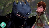 Иккинг знакомит Астрид с Беззубиком. Как приручить дракона (2010) год.