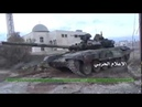 Война в Сирии. Российские танки Т-90 в боях
