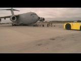 World's Strongest Man Pulls a C-17 Cargo Plane