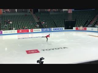 Marin Honda 2018 Skate America SP practice 10.18.18