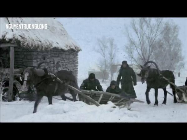 Битва за Москву 1941г в цвете Великая Отечественная война